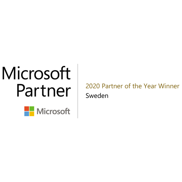 Microsoft Partner of the year 2020